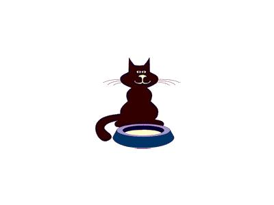 Logo Animals Cats 008 Animated