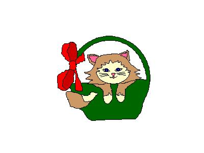 Logo Animals Cats 014 Animated