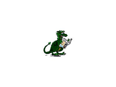Logo Animals Dragons 012 Animated