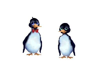 Logo Animals Penguins 006 Color