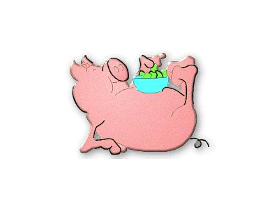 Logo Animals Pigs 014 Color