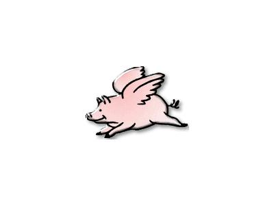 Logo Animals Pigs 016 Color