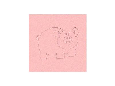 Logo Animals Pigs 023 Color