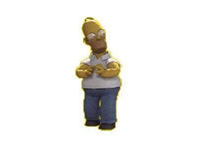 Logo Cartoons Simpsons 037 Animated