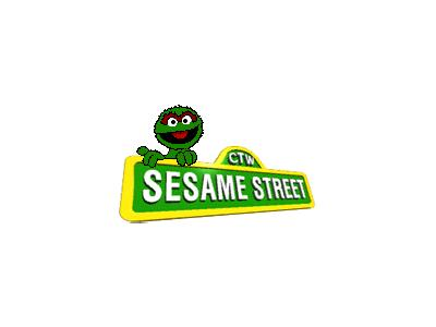 Logo Cartoons Sesamestreet 002 Animated