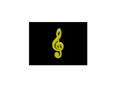 Logo Music Clefs 078 Animated
