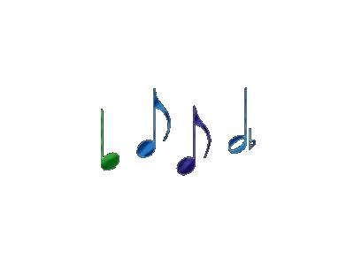 Logo Music Notes 034 Animated