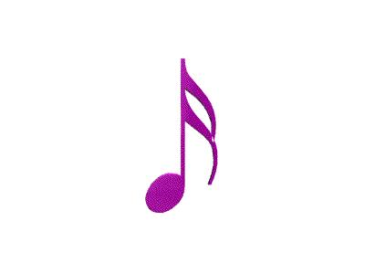 Logo Music Notes 058 Animated