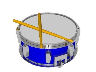 Logo Music Drums 026 Color