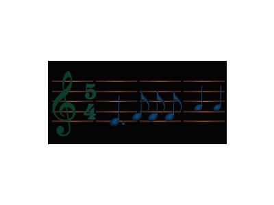 Logo Music Notes 088 Color