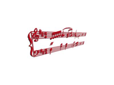 Logo Music Notes 091 Color