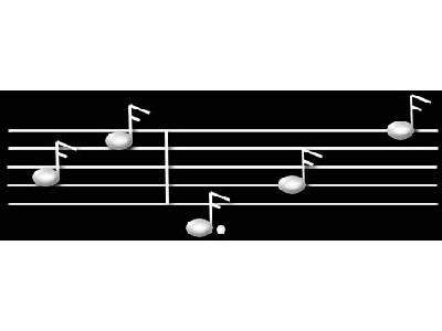 Logo Music Notes 087 Color