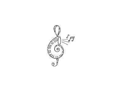 Logo Music Clefs 039 Color