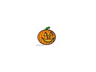 Greetings Jackolantern03 Animated Halloween