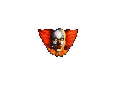 Greetings Clown01 Animated Halloween