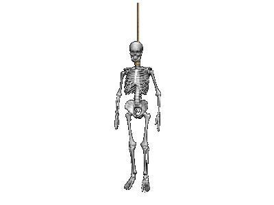 Greetings Skeleton01 Animated Halloween