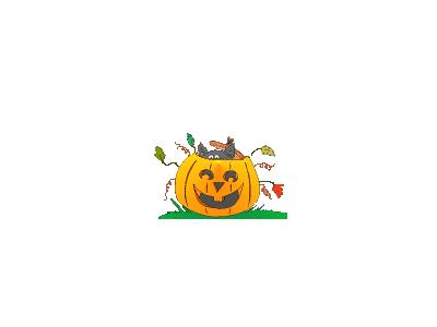 Greetings Jackolantern07 Animated Halloween