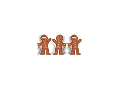 Greetings Gingerbread01 Animated Christmas