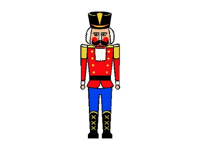 Greetings Nutcracker02 Animated Christmas