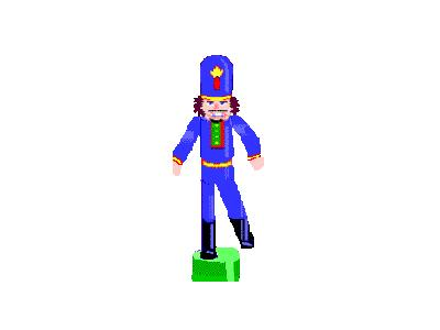 Greetings Nutcracker04 Animated Christmas