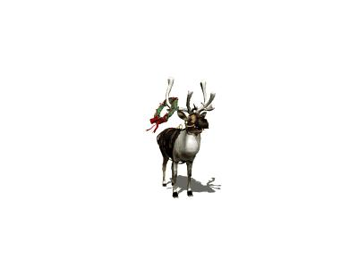 Greetings Reindeer12 Animated Christmas