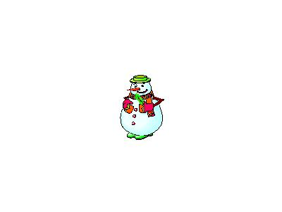 Greetings Snowman02 Animated Christmas