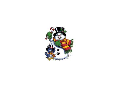 Greetings Snowman12 Animated Christmas