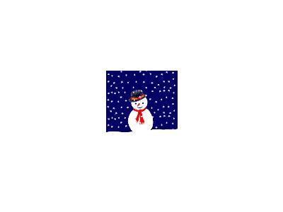 Greetings Snowman03 Animated Christmas
