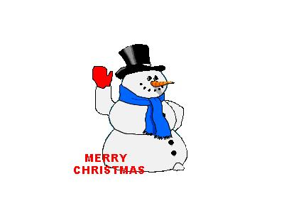 Greetings Snowman05 Animated Christmas