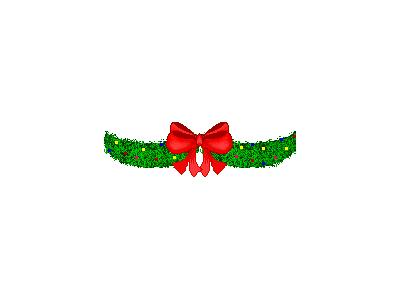 Greetings Wreath03 Animated Christmas