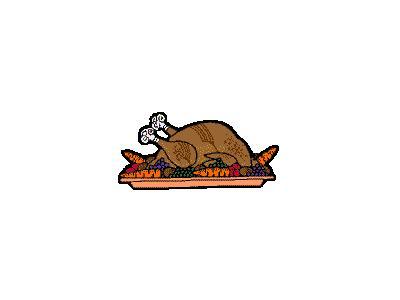 Greetings Turkey04 Color Thanksgiving