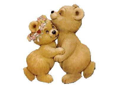 Greetings Bears02 Color Valentine