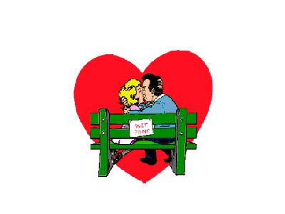 Greetings Couple03 Color Valentine