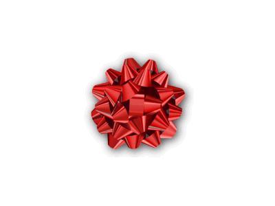 Greetings Bow05 Color Christmas