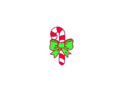 Greetings Candy Cane09 Color Christmas