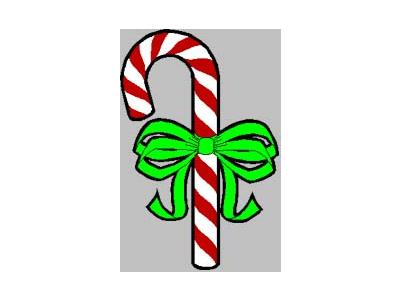 Greetings Candy Cane10 Color Christmas
