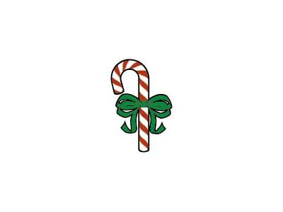 Greetings Candy Cane11 Color Christmas