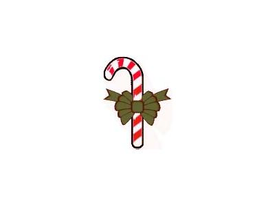 Greetings Candy Cane15 Color Christmas