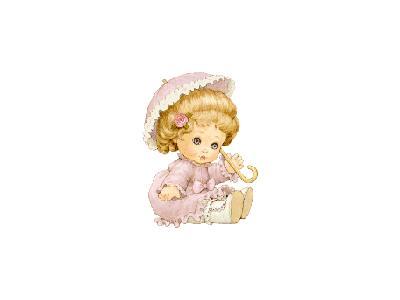 Greetings Doll02 Color Christmas