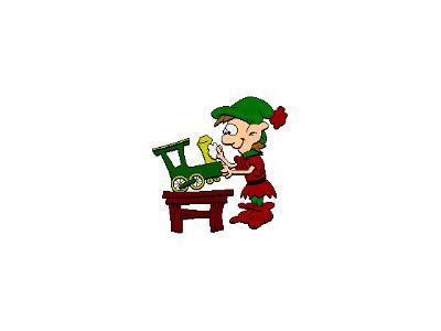 Greetings Elf13 Color Christmas