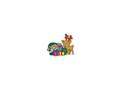 Greetings Gift04 Color Christmas
