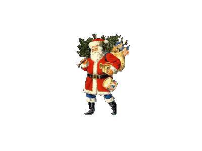 Greetings Santa03 Color Christmas