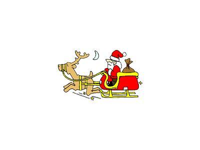 Greetings Santa12 Color Christmas