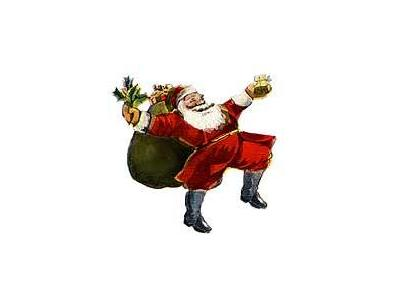 Greetings Santa28 Color Christmas