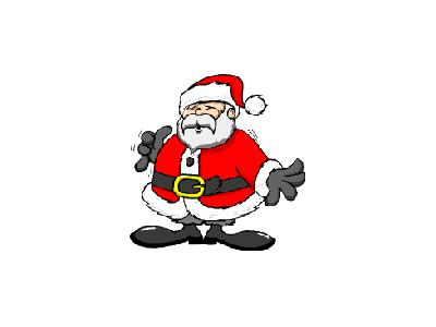 Greetings Santa41 Color Christmas