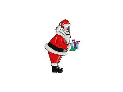 Greetings Santa48 Color Christmas
