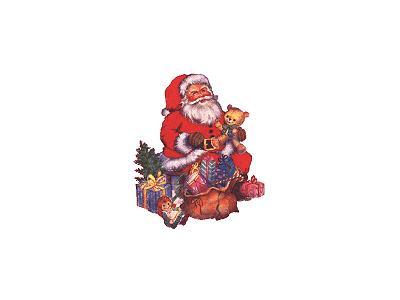 Greetings Santa50 Color Christmas