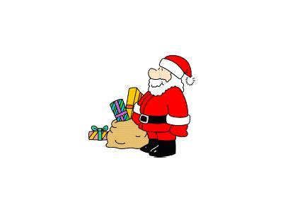 Greetings Santa72 Color Christmas