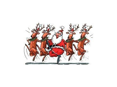 Greetings Santa75 Color Christmas