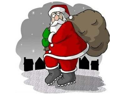 Greetings Santa80 Color Christmas